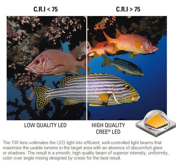 lumia lygte undervandsjagt