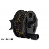 Imersion Horizontal reel equipped with 35 m of 2 mm nylon thread