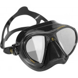 Cressi Nano black HD mirror Mask