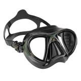 Cressi Nano  black green Maske